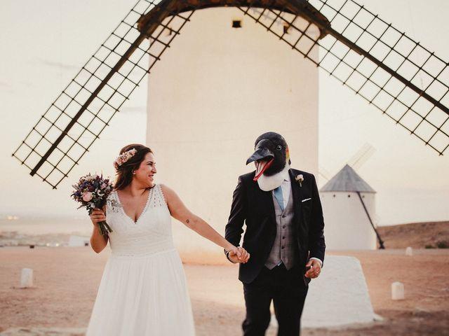 La boda de Quique y María en Campo De Criptana, Ciudad Real 86