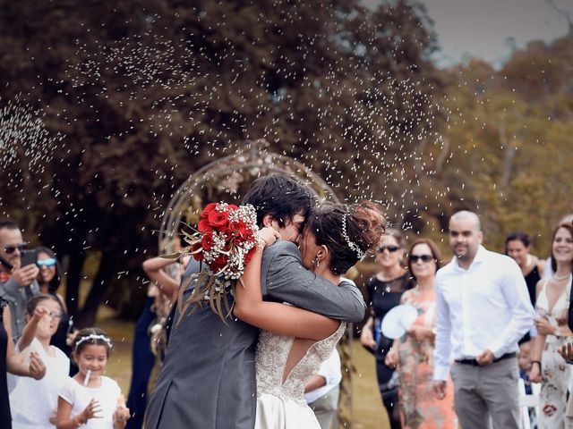 La boda de Miguel y Ahina en Sant Ferriol, Girona 25