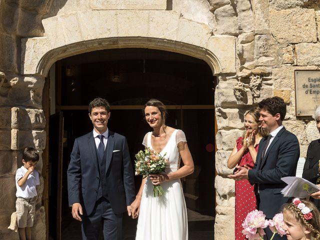 La boda de Mathieu y Camille en Sant Pere Pescador, Girona 24