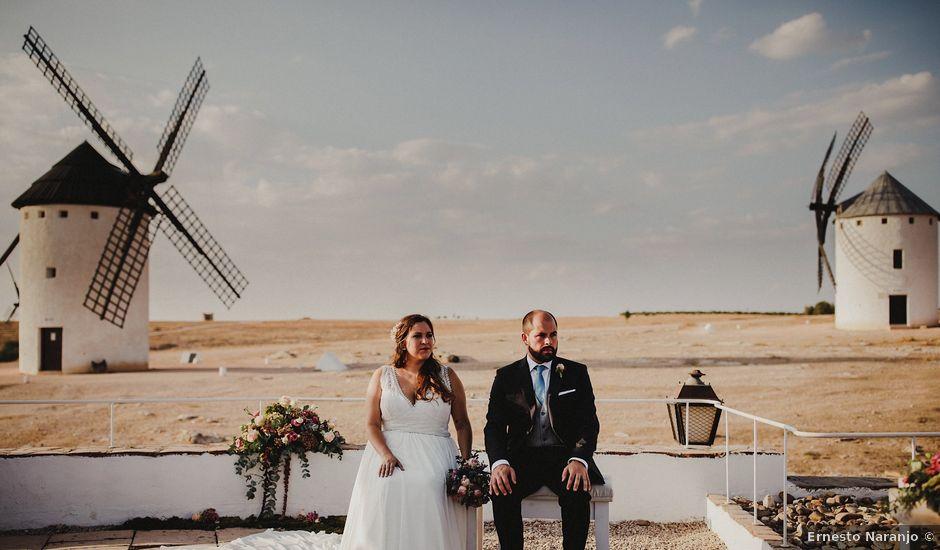 La boda de Quique y María en Campo De Criptana, Ciudad Real