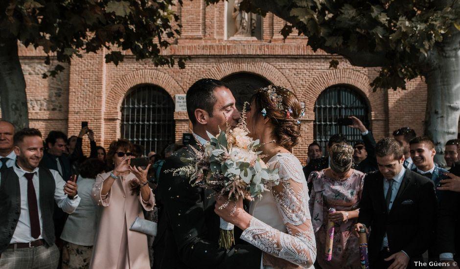 La boda de Oscar y Irene en Calahorra, La Rioja