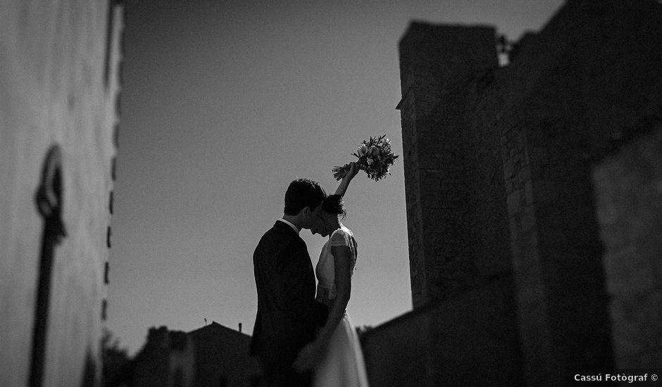 La boda de Mathieu y Camille en Sant Pere Pescador, Girona