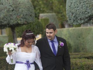 La boda de David y Yerlis 1