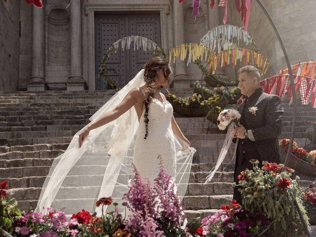 La boda de Cristina  y Juanmi en Girona, Girona 2
