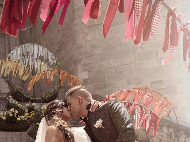 La boda de Cristina  y Juanmi en Girona, Girona 1