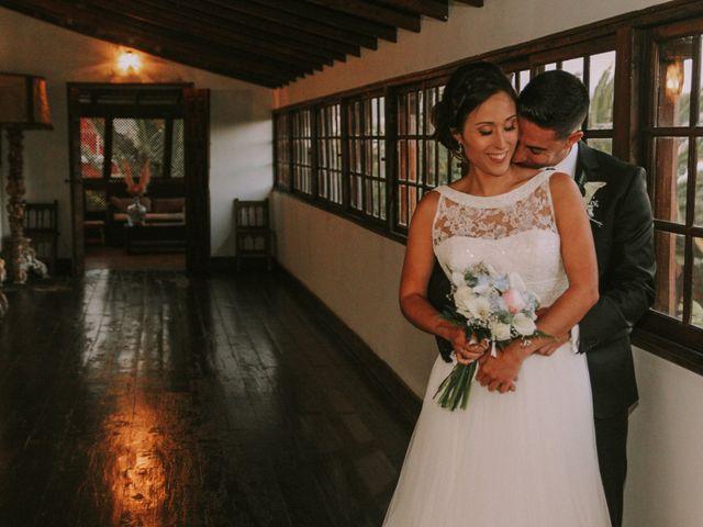 La boda de Saúl y Tania en San Cristóbal de La Laguna, Santa Cruz de Tenerife 1