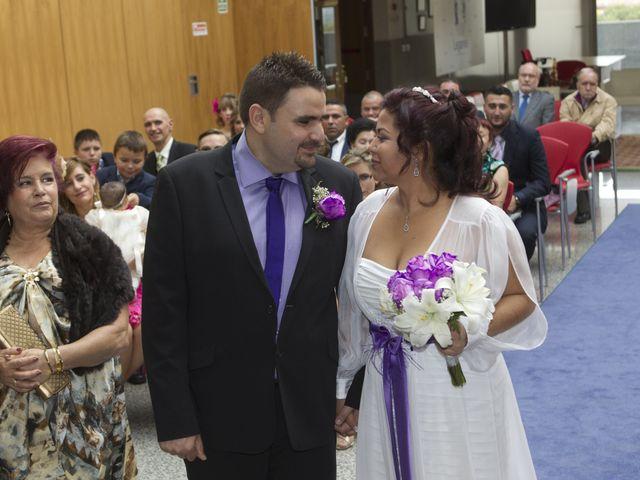 La boda de Yerlis y David en Parla, Madrid 2