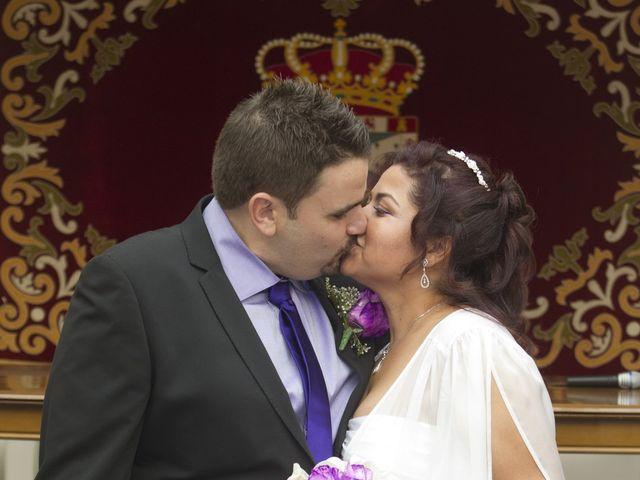 La boda de Yerlis y David en Parla, Madrid 6