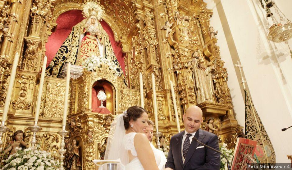 La boda de Francisco y Rocio en Carmona, Sevilla