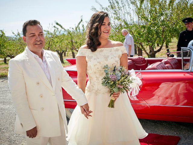 La boda de Ricard y Ana en Segorbe, Castellón 9