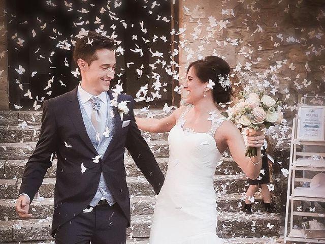La boda de Fernando y Andrea en Siguenza, Guadalajara 1