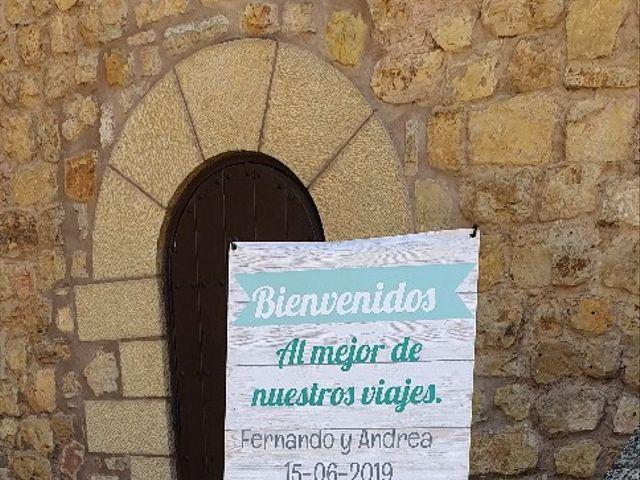 La boda de Fernando y Andrea en Siguenza, Guadalajara 19