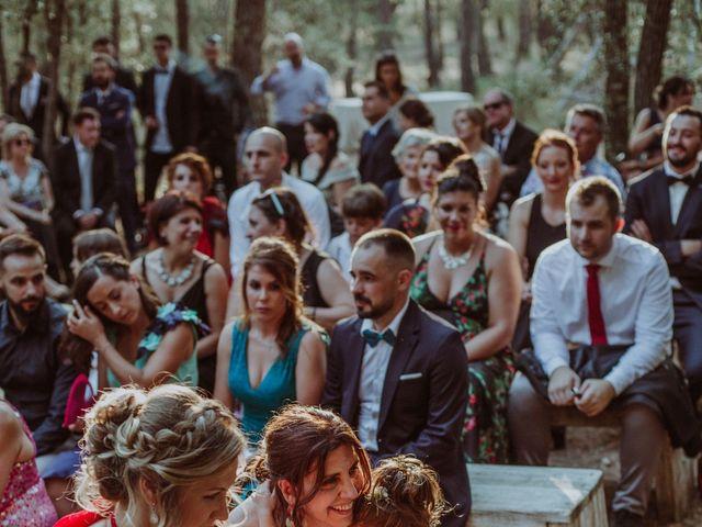 La boda de Albert y Silvia en Pontos, Girona 37