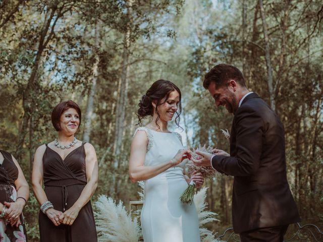 La boda de Albert y Silvia en Pontos, Girona 40