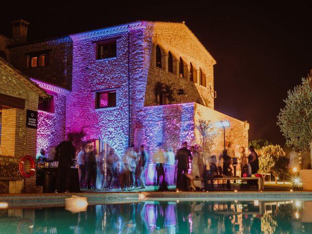 La boda de Albert y Silvia en Pontos, Girona 86