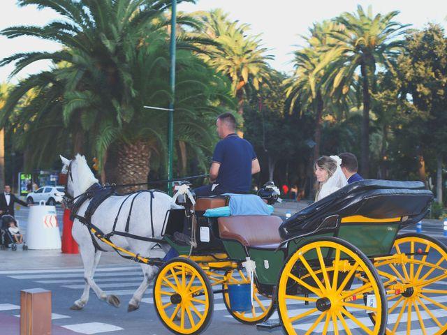 La boda de Jorge y Silvia en Málaga, Málaga 32