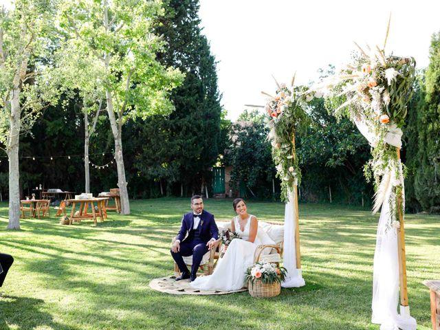 La boda de Xantal y Alex