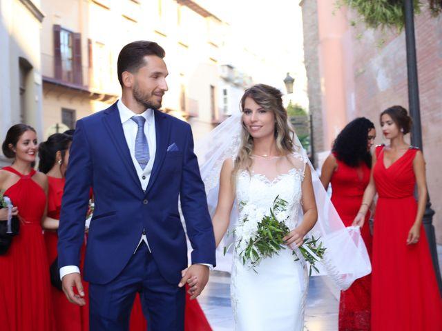 La boda de Jorge y Silvia en Málaga, Málaga 29