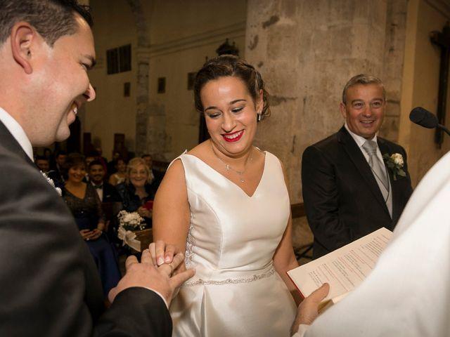 La boda de Pablo y Marta en Valoria La Buena, Valladolid 17