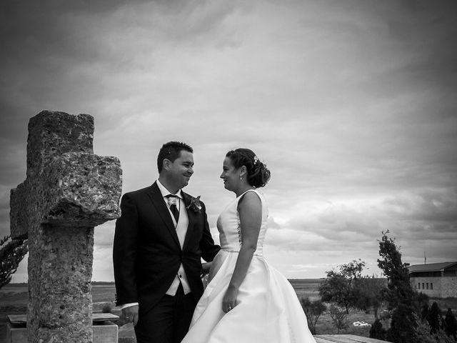 La boda de Pablo y Marta en Valoria La Buena, Valladolid 22
