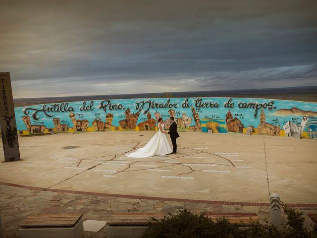 La boda de Pablo y Marta en Valoria La Buena, Valladolid 1