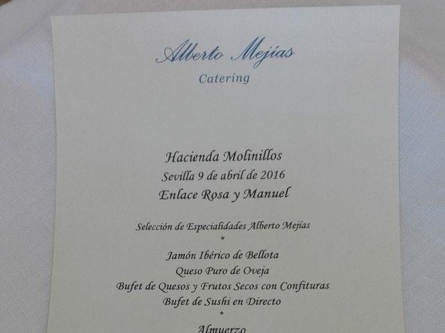 La boda de Manuel  y Rosa  en Sevilla, Sevilla 20