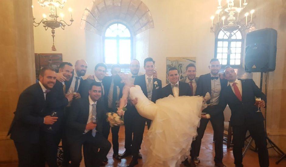 La boda de Fernando y Andrea en Siguenza, Guadalajara
