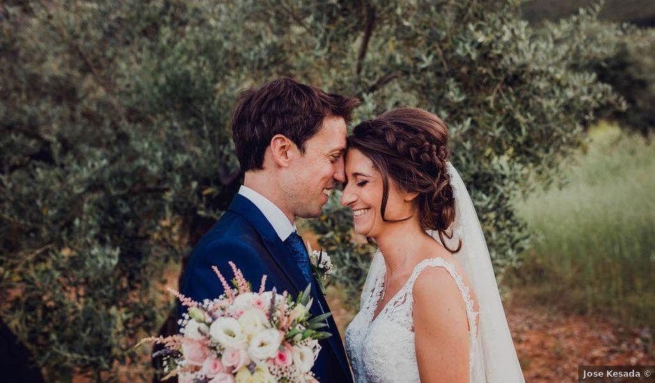 La boda de Manuel y Céline en Jabalcuz, Jaén