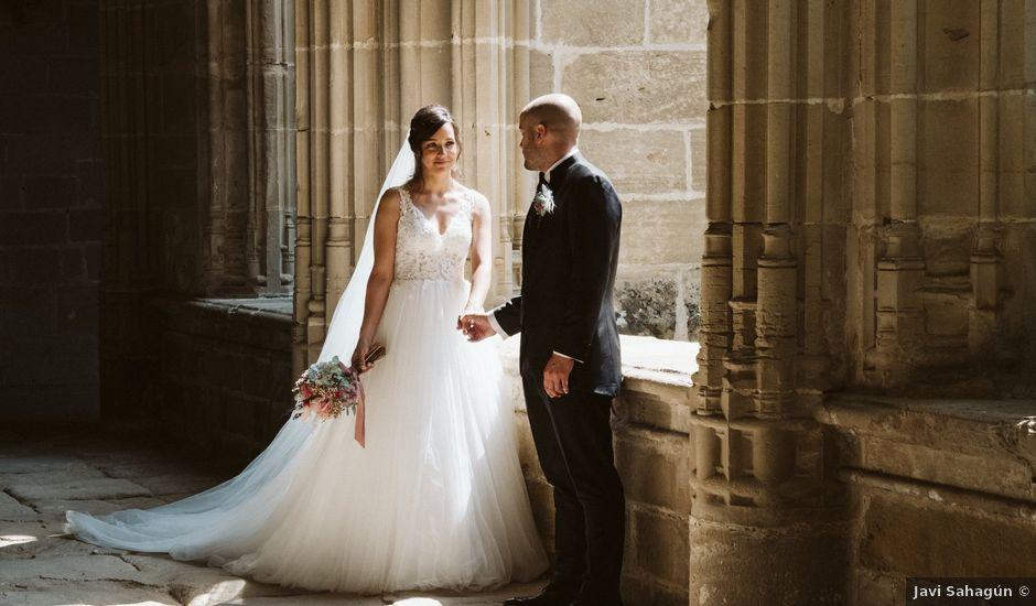 La boda de Juan Carlos y Marta en Casalarreina, La Rioja