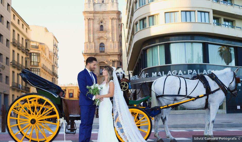 La boda de Jorge y Silvia en Málaga, Málaga