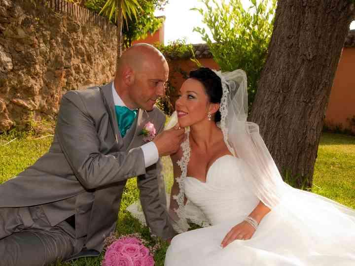 La boda de Sabrina y Antonio