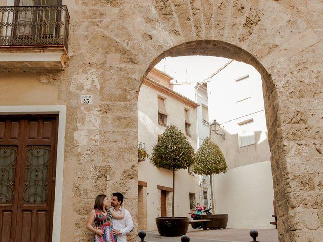 La boda de Salva y Rebeca en Castellnovo, Castellón 1