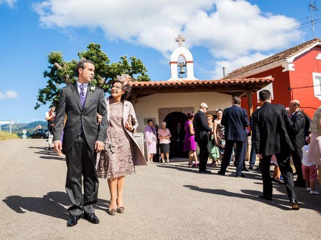 La boda de Eduardo y Natalia en Aces De Candamo, Asturias 7
