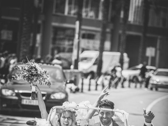 La boda de Alexandra y Denis