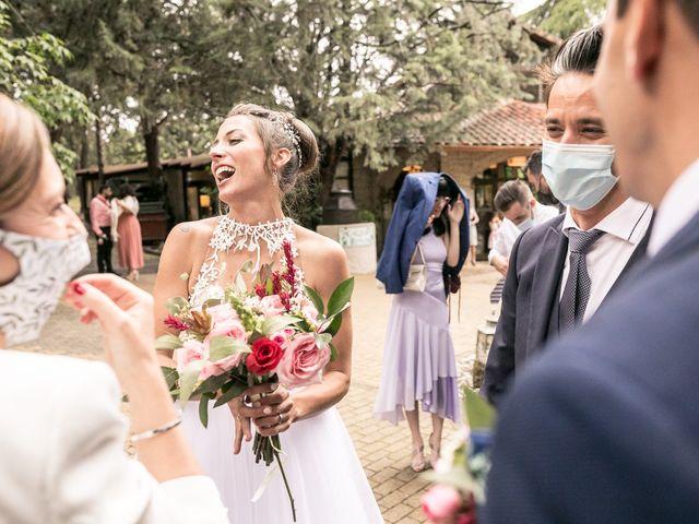 La boda de Rubén y Irene en Alalpardo, Madrid 35