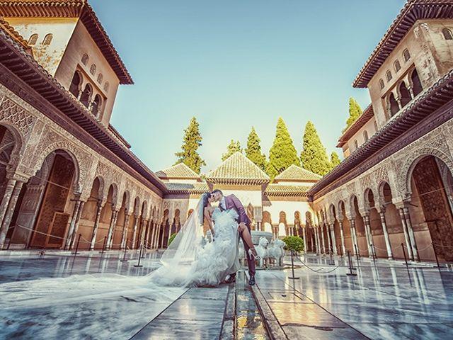 La boda de Miguel y Miriam en Atarfe, Granada 1
