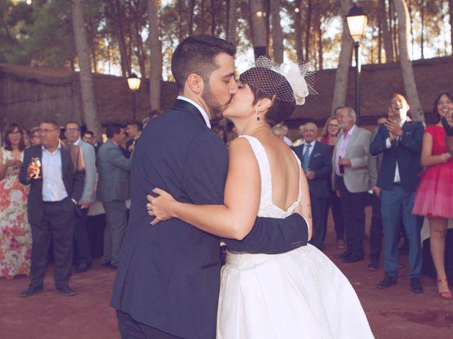 La boda de Carlos y Noelia en Sax, Alicante 17