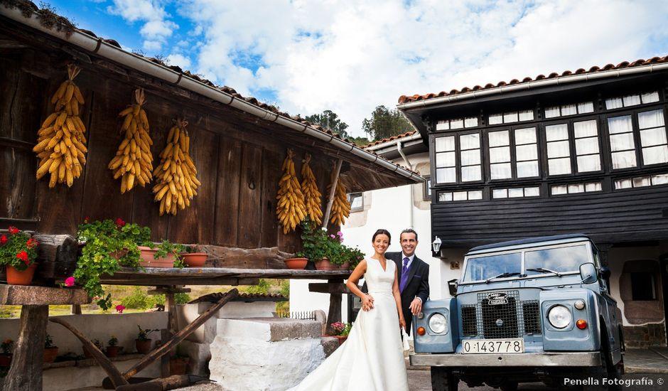 La boda de Eduardo y Natalia en Aces De Candamo, Asturias