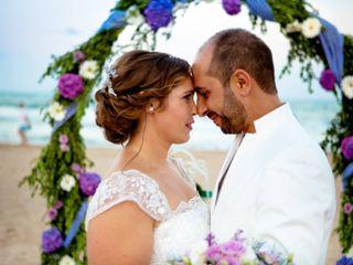 La boda de Juan y Leti