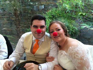 La boda de Almudena y David