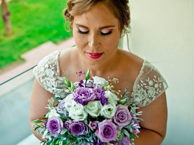 La boda de Leti y Juan en Abaran, Murcia 2