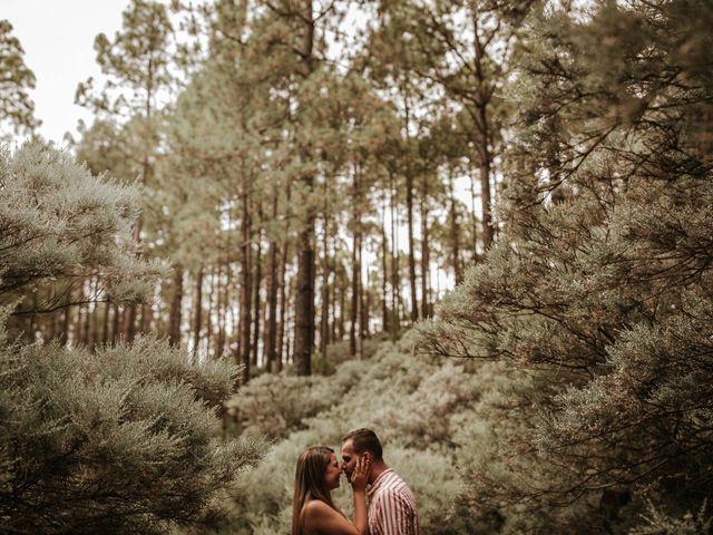 La boda de David y Diana en Galdar, Las Palmas 7