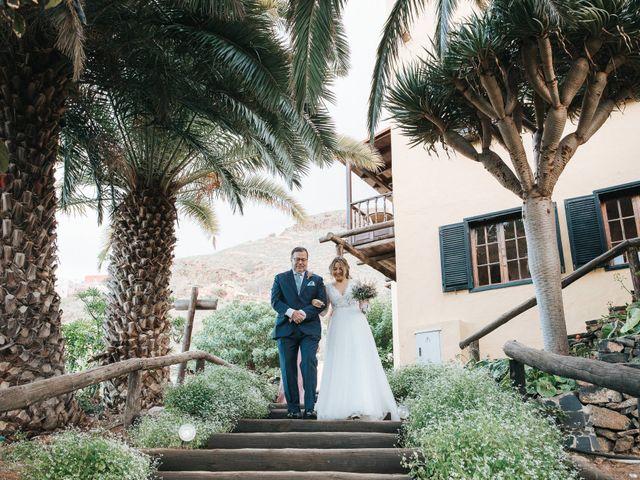 La boda de David y Diana en Galdar, Las Palmas 46