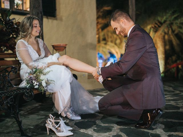 La boda de David y Diana en Galdar, Las Palmas 77