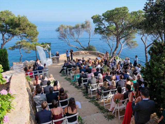 La boda de Luís y Carolina en Blanes, Girona 14