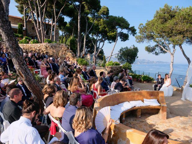 La boda de Luís y Carolina en Blanes, Girona 15