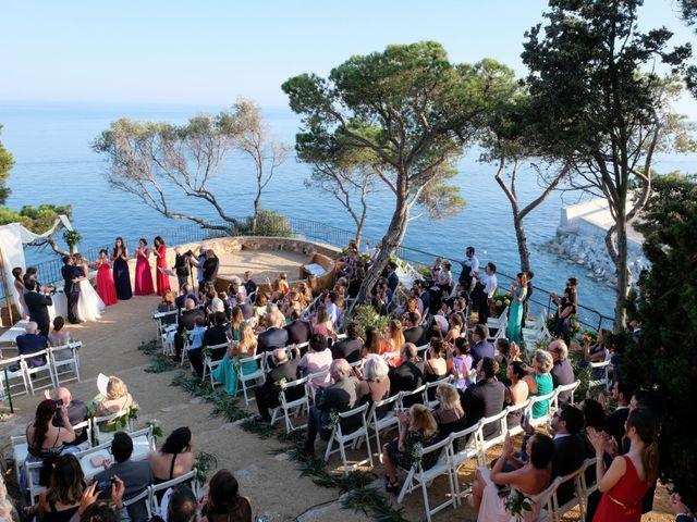 La boda de Luís y Carolina en Blanes, Girona 17