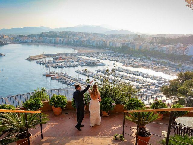 La boda de Luís y Carolina en Blanes, Girona 24