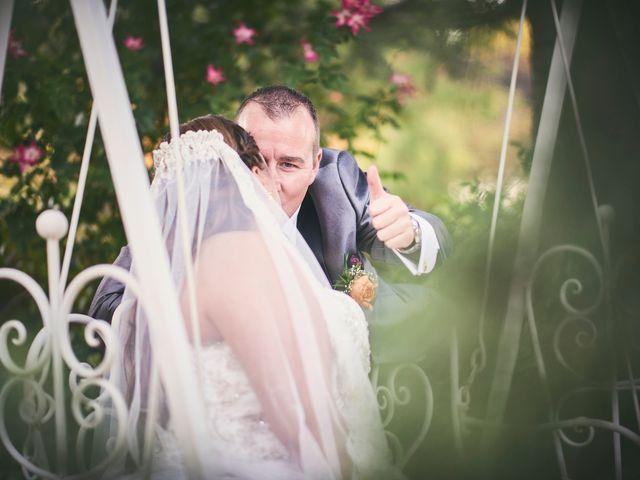 La boda de Jorge y Ainhoa en El Olivar, Guadalajara 7