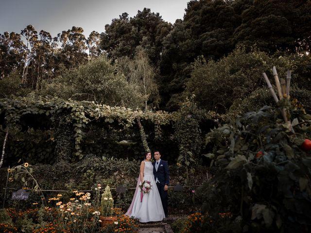 La boda de Eloy y Paula en Bueu (Meiro), Pontevedra 1